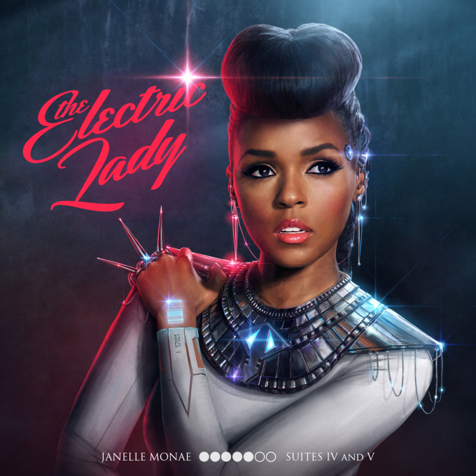 The Electric Lady - deluxe album cover